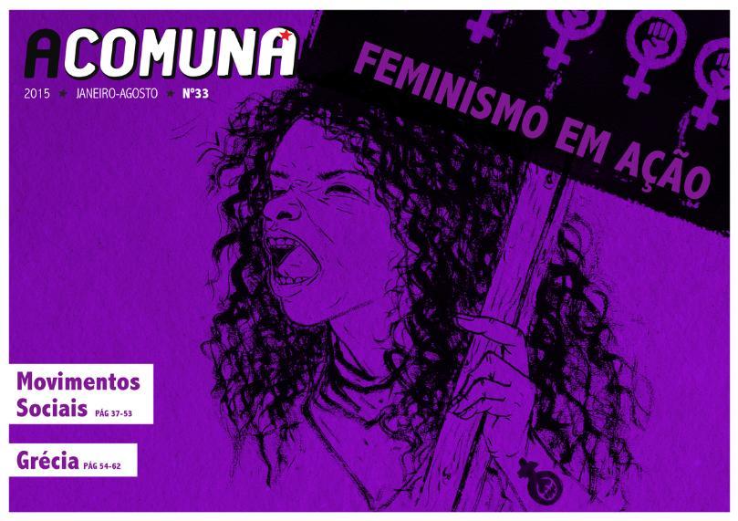 capa A Comuna 33 Feminismo em Acao